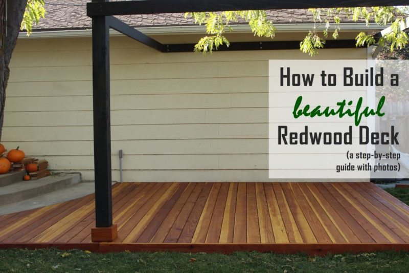 How to Build a Redwood Deck: A Step-by-Step Guide from Start to Finish