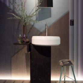 Lariana Agape Design Freestanding Pedestal Sink