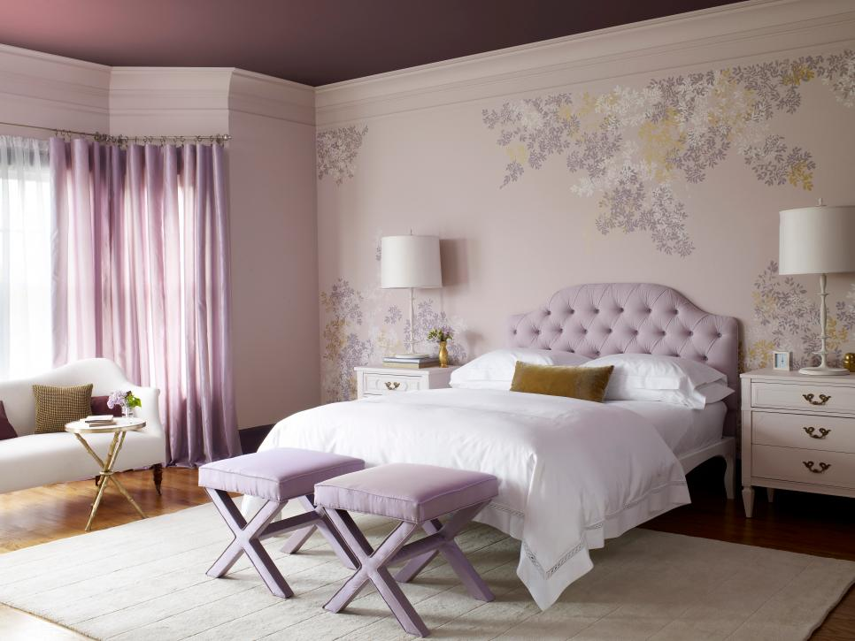 10 bedrooms to inspire you to go lavender