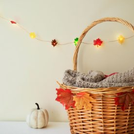 Leaf string for fall