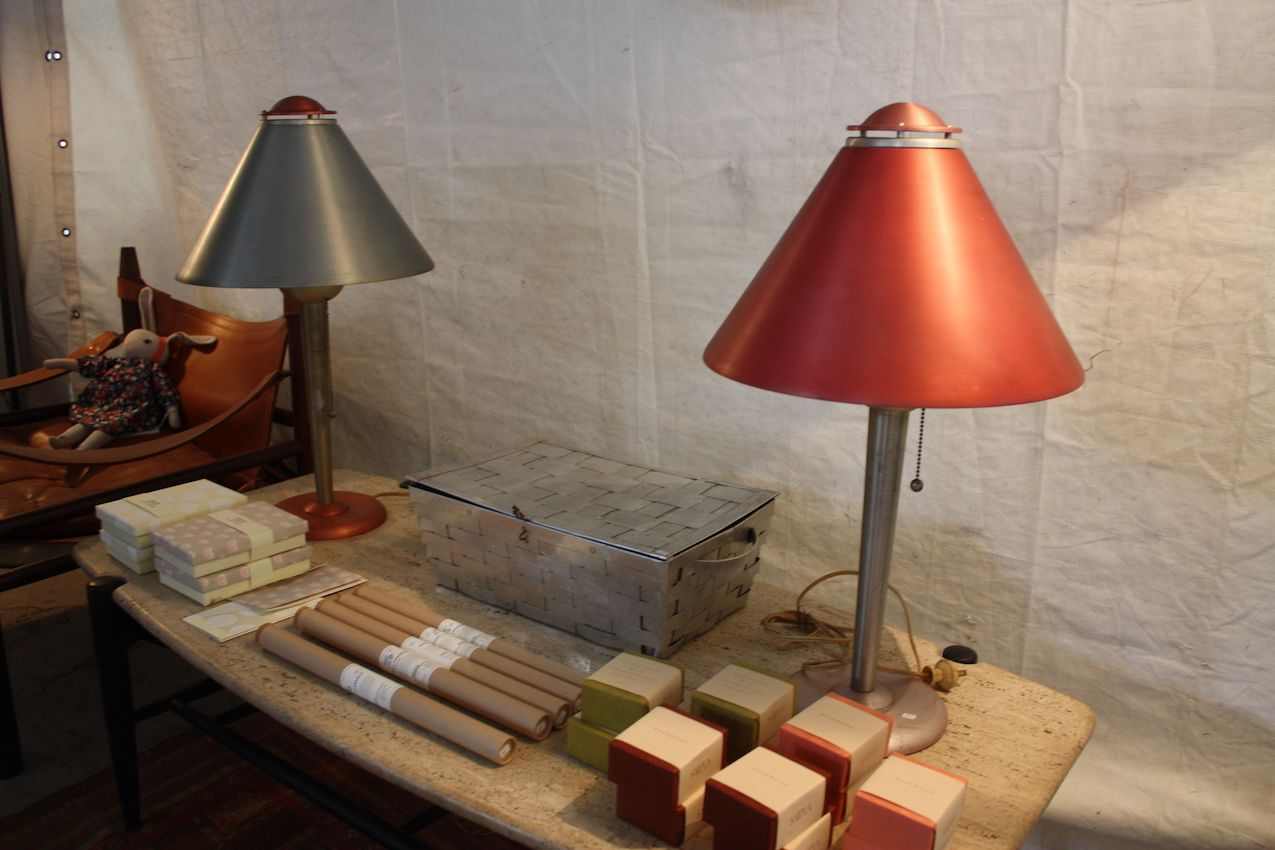 These lamps work alongside modern or rustic accessories.