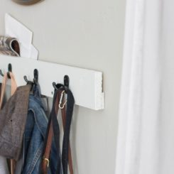 Mail organizer and coat rack