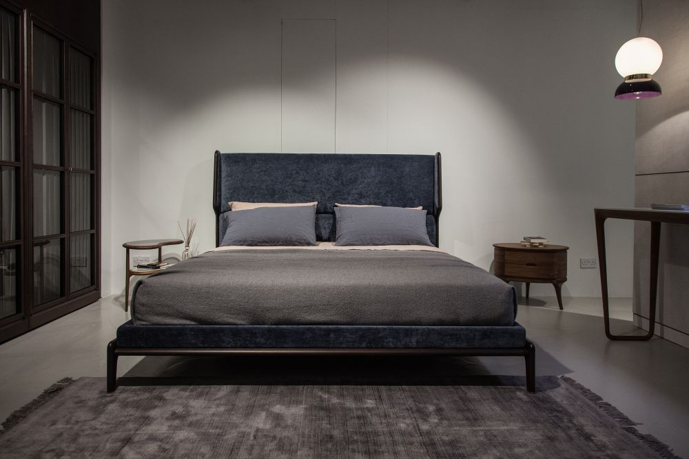 Modern bedroom furniture is often sleek and space-efficient as opposed to traditional pieces which are more robust