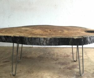 Live Edge Coffee Tables That Capture Nature's Beauty In Their Designs