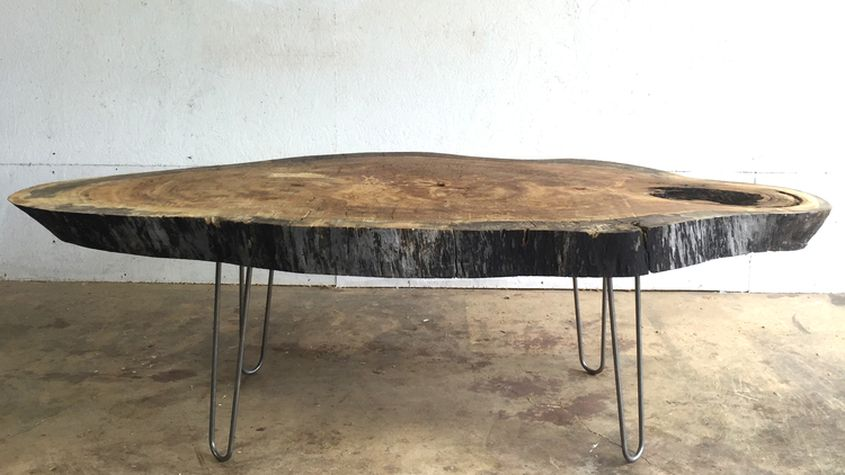 Live Edge Coffee Tables That Capture