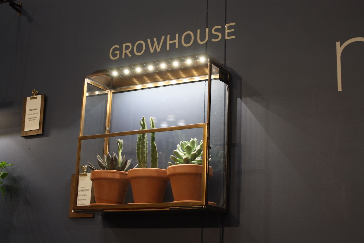 Enjoy your living plants year-round with a stylish Growhouse from Modern Sprout.