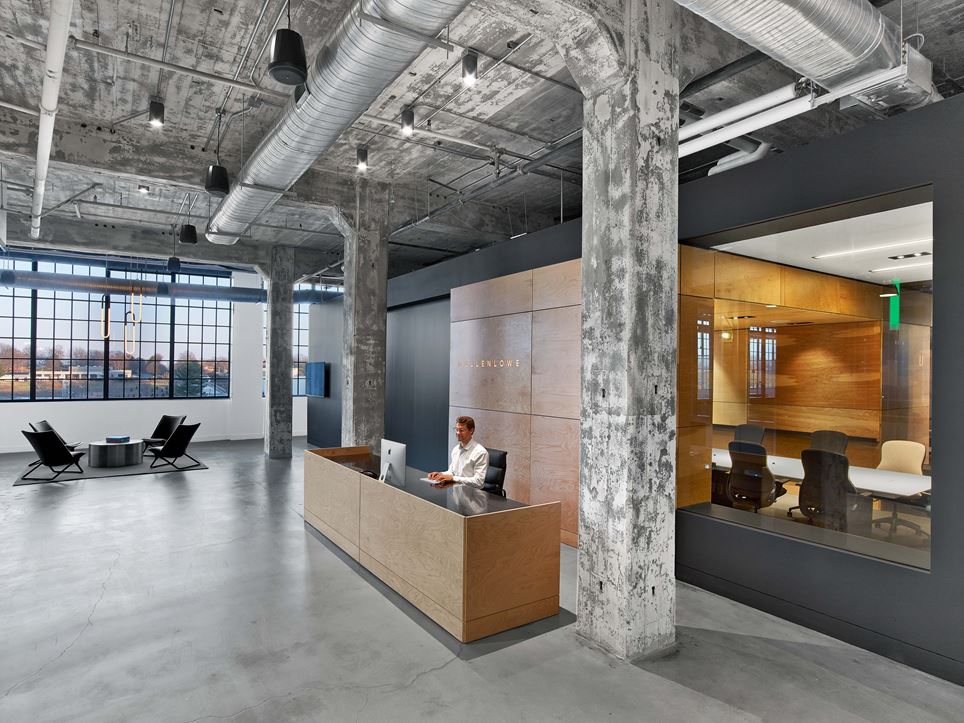 Creative Agency Creates an Innovative Office in an Old Industrial Space