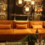 There's nothing like a pumpkin-hued piece, like this sofa from Nick Alain.