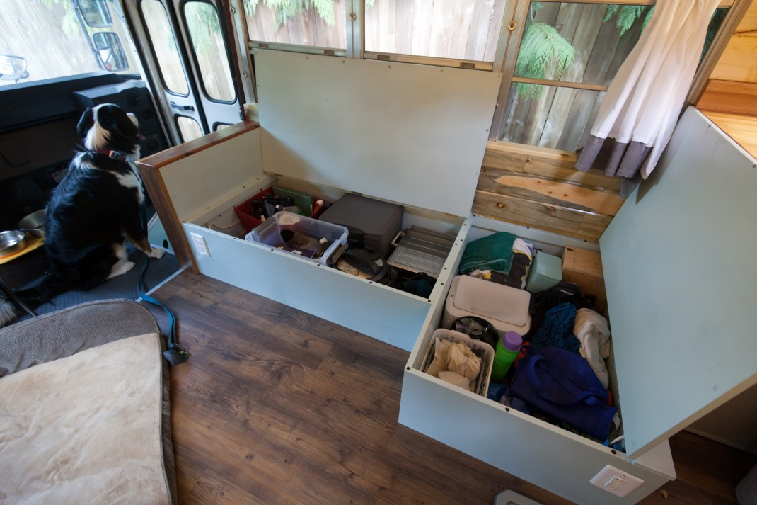 How To Turn A Bus Into A Home – Learning From The Best images 16