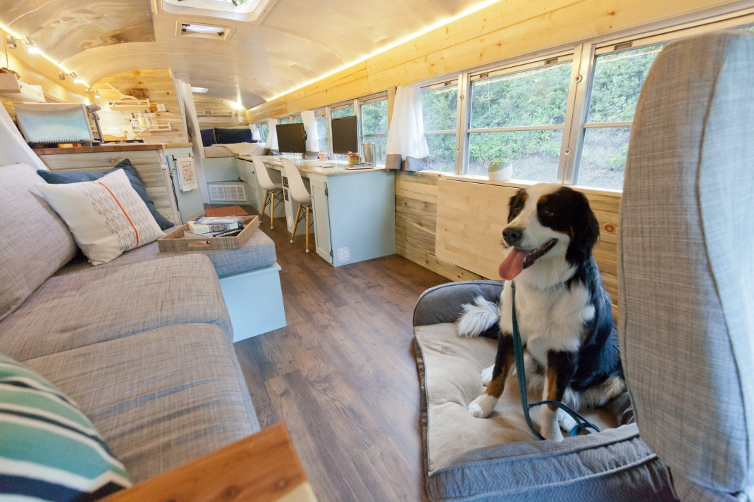 How To Turn A Bus Into A Home – Learning From The Best images 15