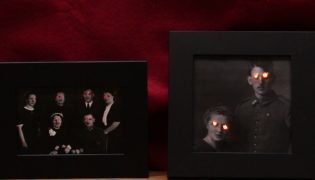 DIY an Eerie-Eyed Photo for Halloween
