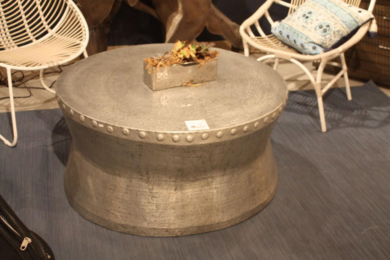 It's possible to find galvanized metal that doesn't conform to typical rustic or industrial styles.