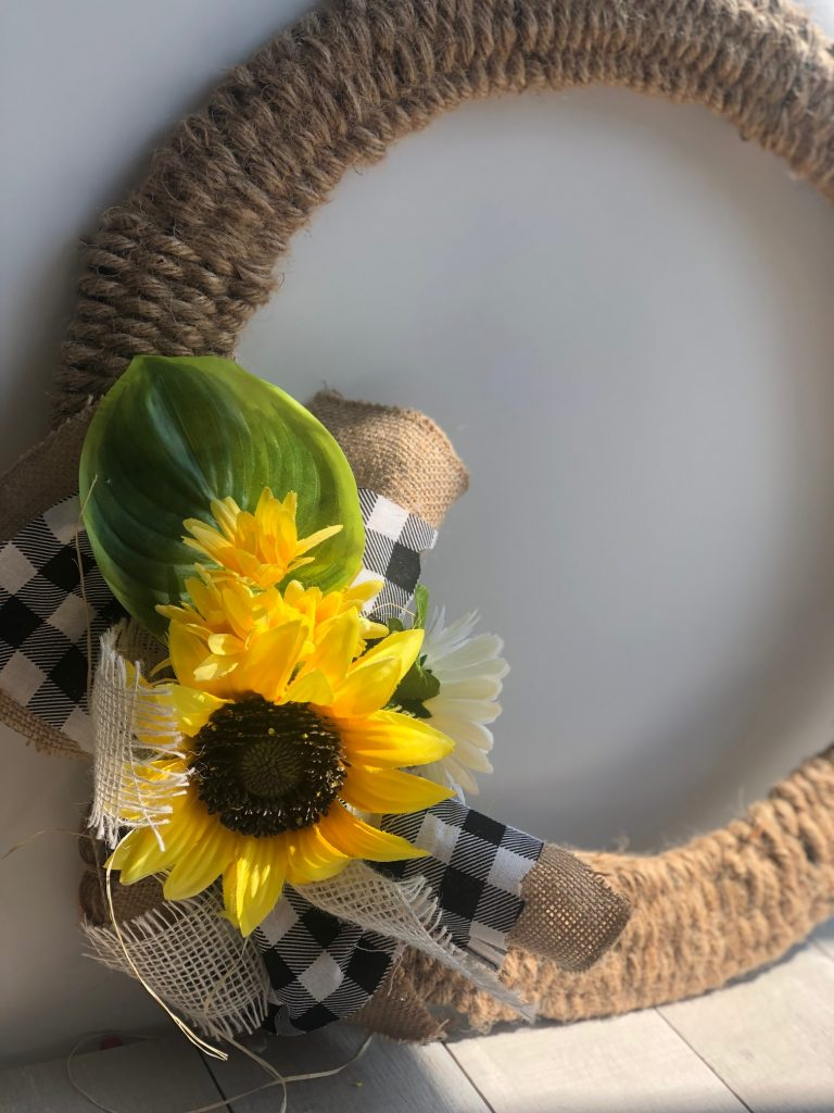 Rustic Woven Fall Wreath