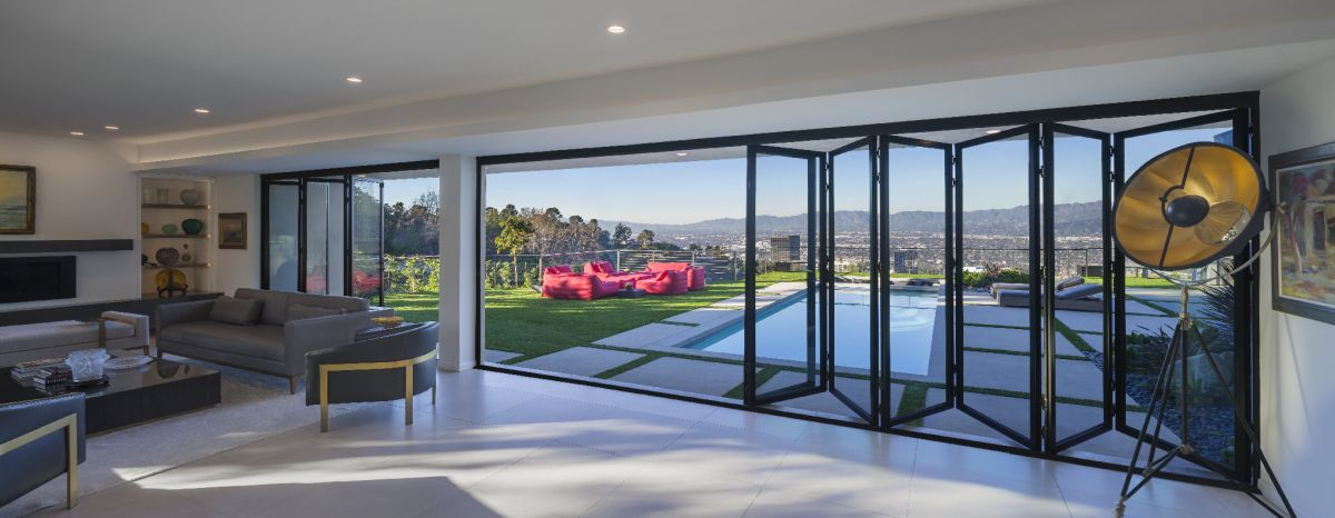 Even When Closed, The Large Glass Panels Offer A Stunning View. Pictures