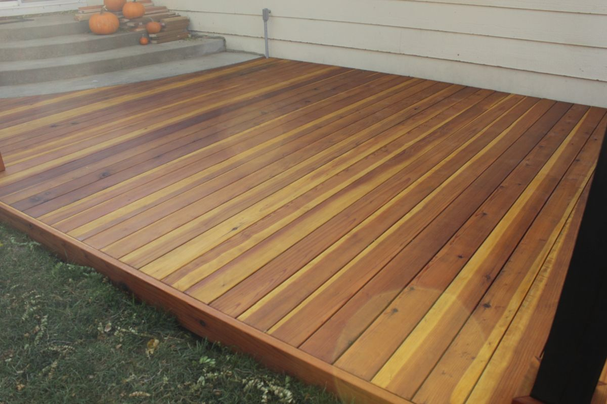 How To Build A Redwood Deck Step By Guide From Start