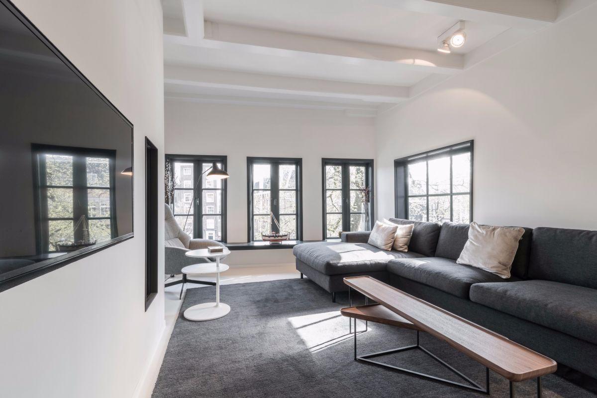 Minimalist Design Transforms Amsterdam Apartment Into