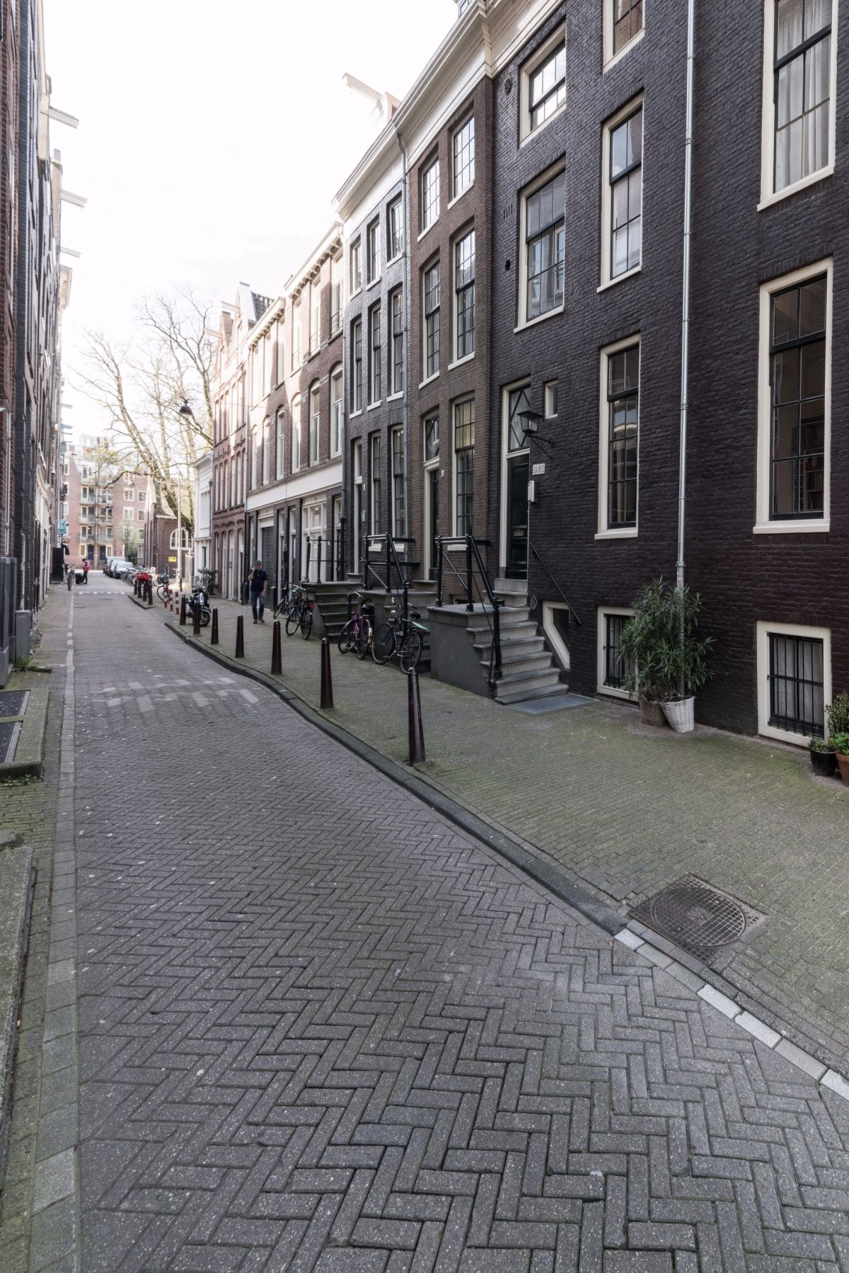 The side streets of the Amsterdam neighborhood offer plenty of charm as well.