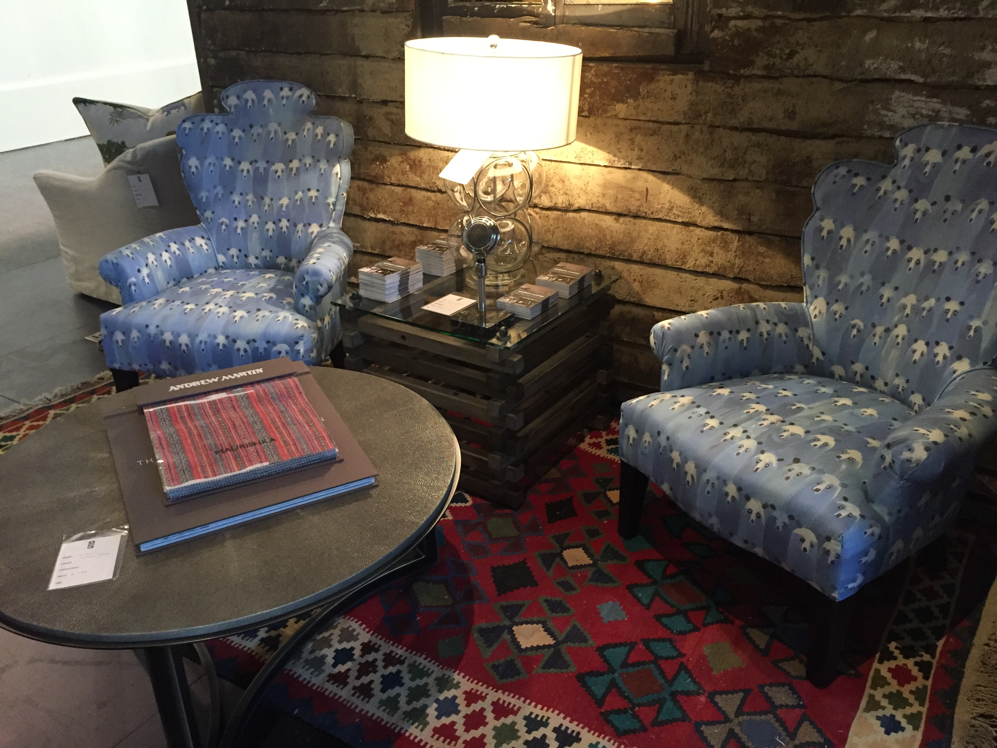 Add an area rug to make your reading nook feel extra cozy and to give it personality