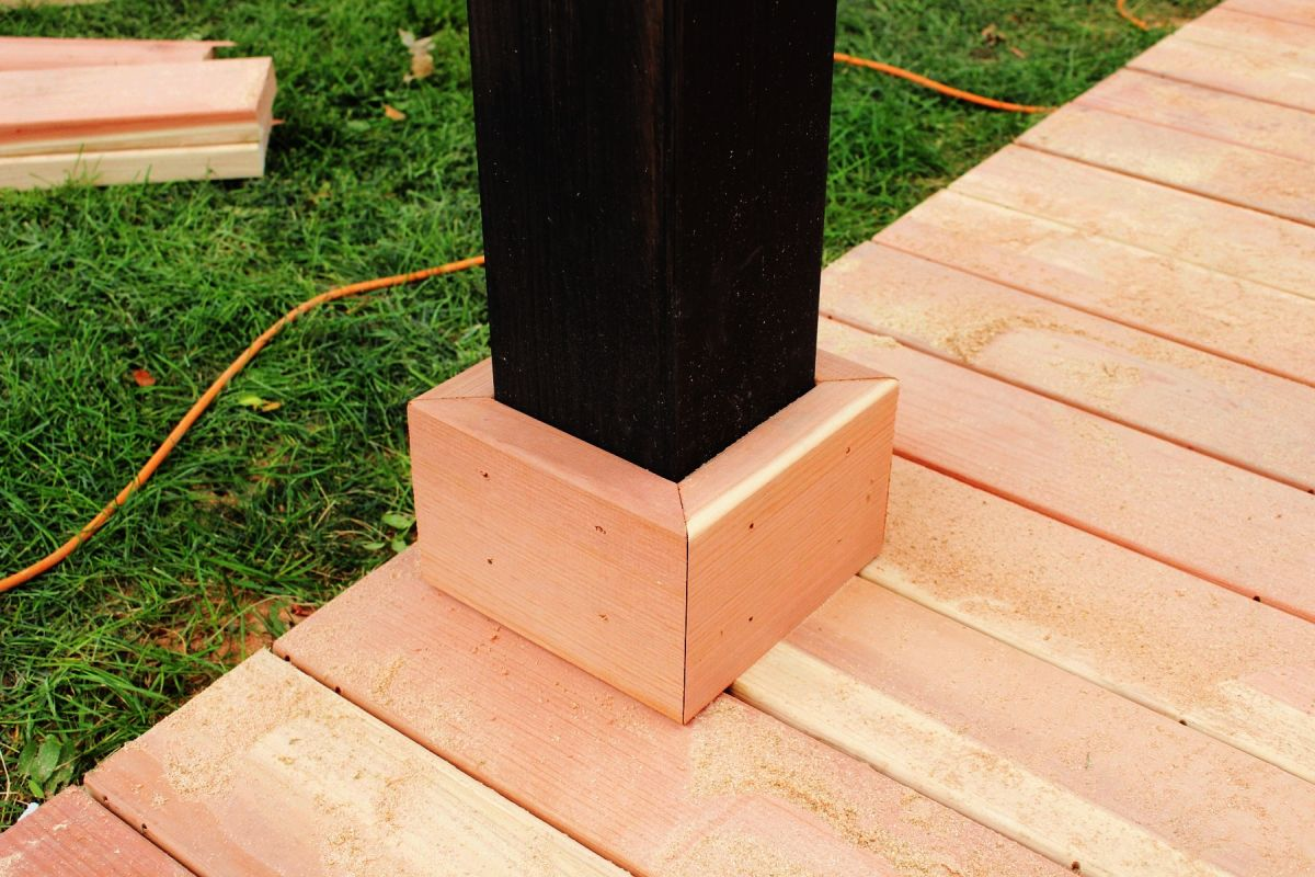 How to Trim a Redwood Deck: Finishing Touches Before Staining & Sealing images 4