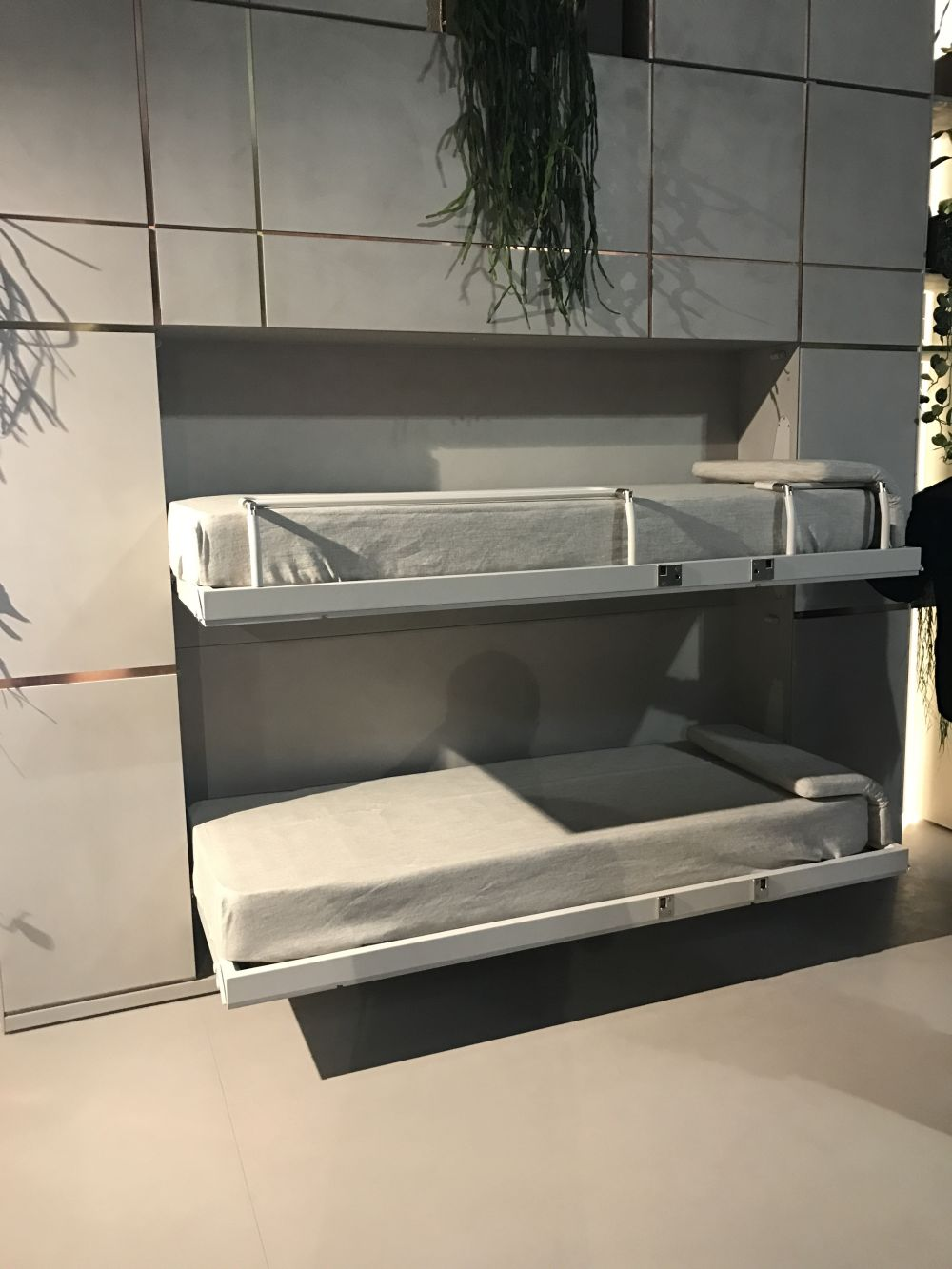 with the habitat in motion series featured at salone del mobile in milan clei introduced a movable wall unit which allows a space to serve as a living room