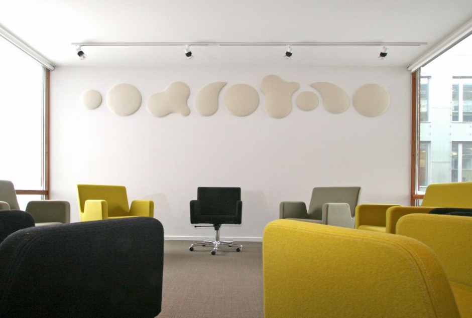 Decorative Sound Walls : Cool uses for decorative wall panels in modern spaces