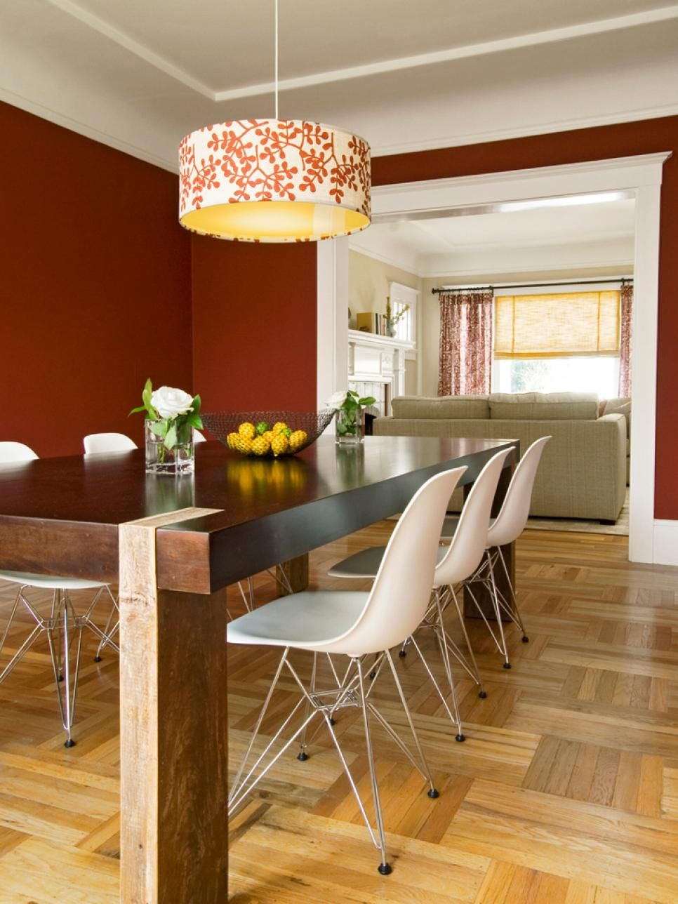 Using color in the feng shui dining room for Feng shui colours for living room