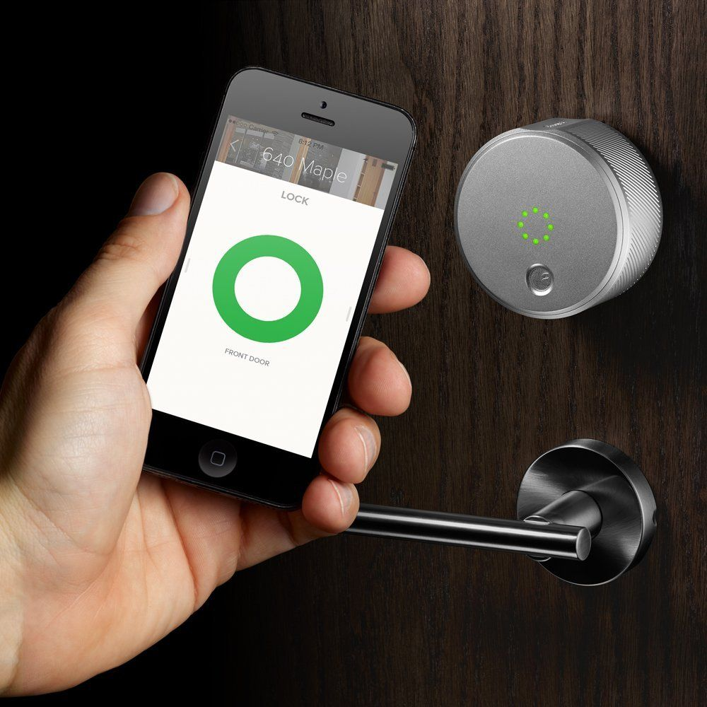 1. Generation August Smart Lock - Silber