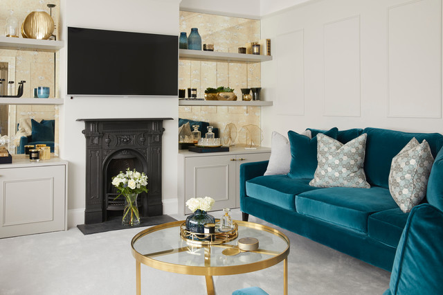 Add Teal Seating to your living room
