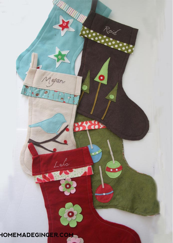 20 Christmas Stocking Diys You Should Try Before It S Too Late