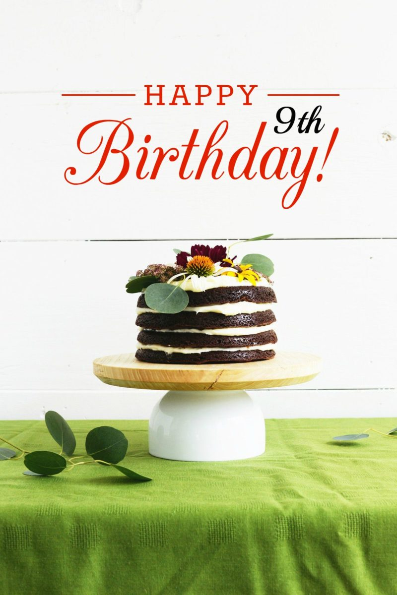 Happy 9th Birthday Homedit!