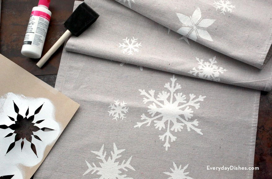 Christmas Table Runner View In Gallery