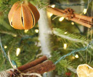 Homemade Christmas Tree Ornaments: A Natural Roundup