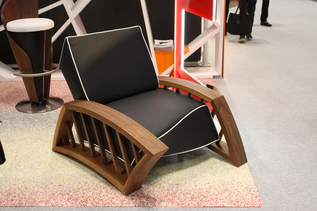 The company is known for contract furniture but also produces custom pieces for high-end homes.