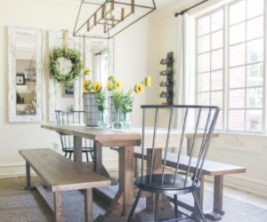 Chunky Is The New Chic – Farmhouse Table Plans You Need To See