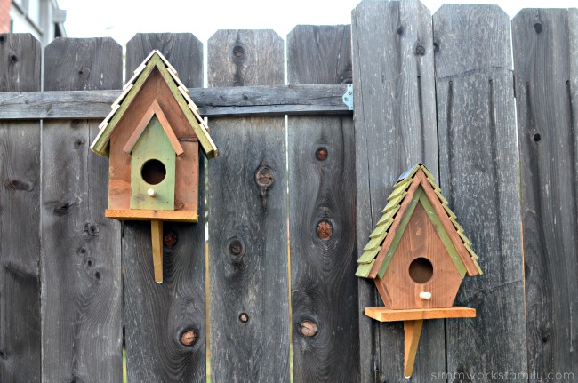 diy colorful bird house yard crafts birdhouse plans with adorable designs 4231
