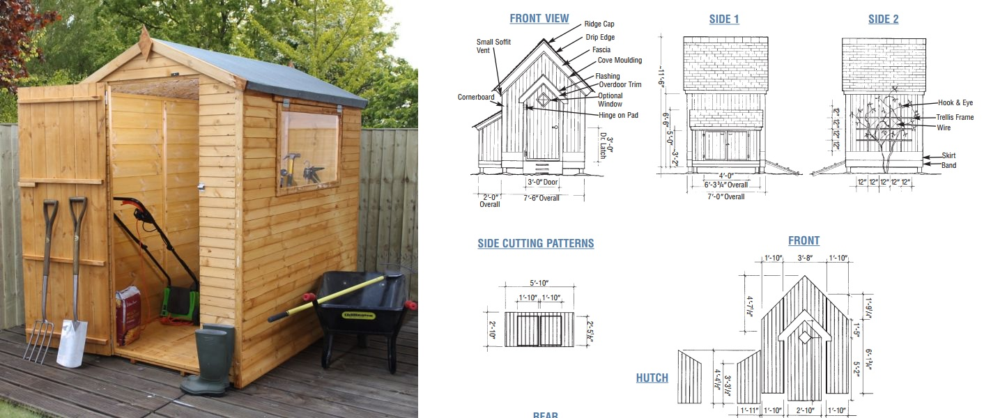 How To Build A Garden Shed From Scratch - Simple Plans With Lots Of Gardening Potting Shed Designs on inside potting sheds designs, above ground pool landscape designs, stone signs and designs, garden gate designs, subdivision entry designs, gardening art designs,