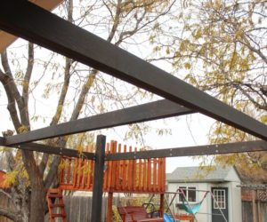 How to Frame a Modern Pergola