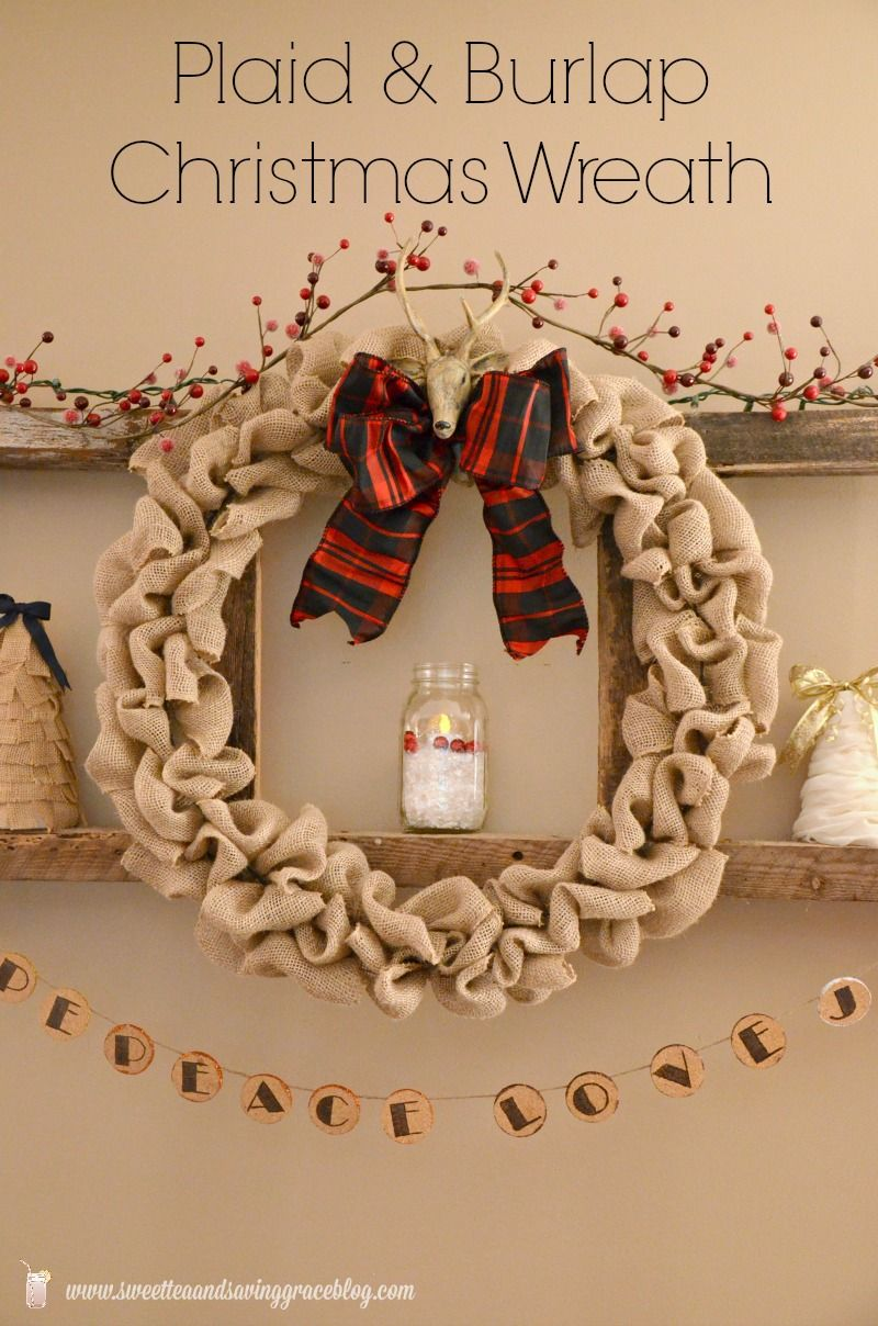 Charming DIY Decorations For A Rustic Christmas images 19