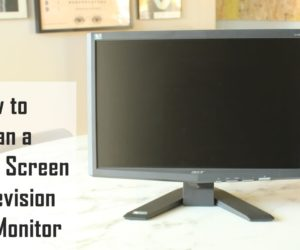 How to Clean a Flat Screen TV or any LCD-Touchscreen Display