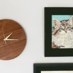 How to make a modern wall clock - perfect mom gift for Christmas