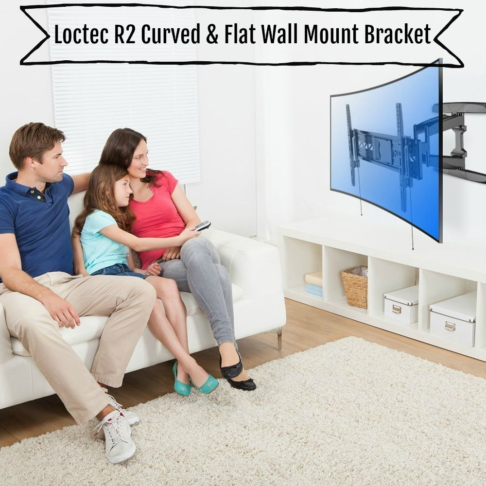 Loctec R2 Curved & Flat Wall Mount Bracket