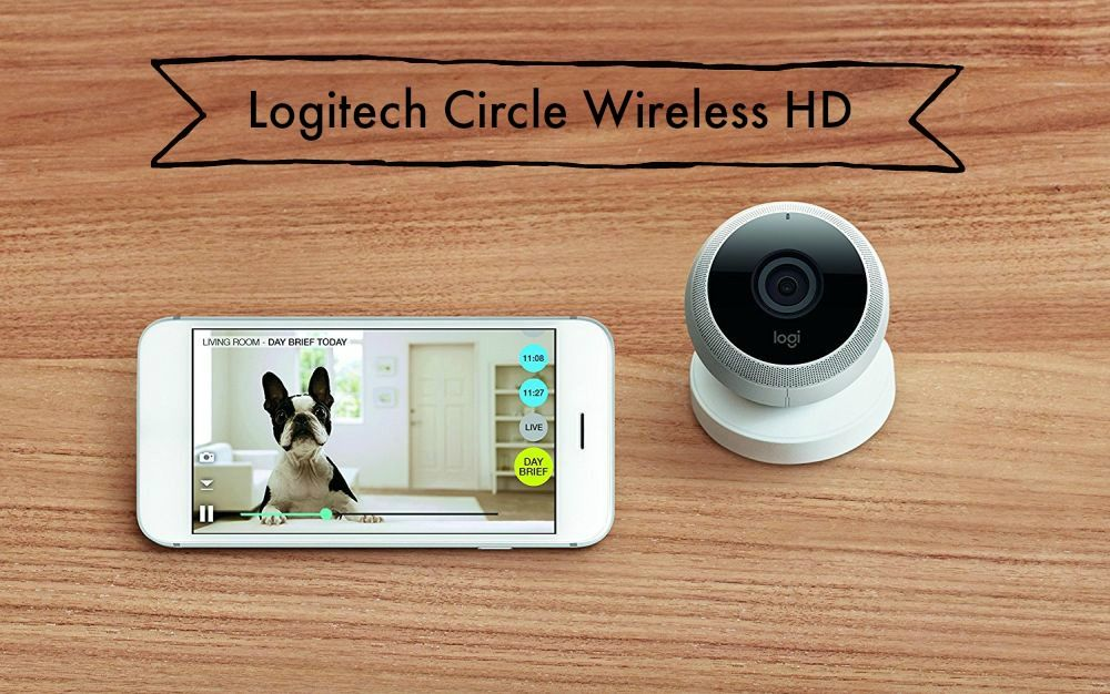 Logitech Circle Wireless HD Überwachungskamera