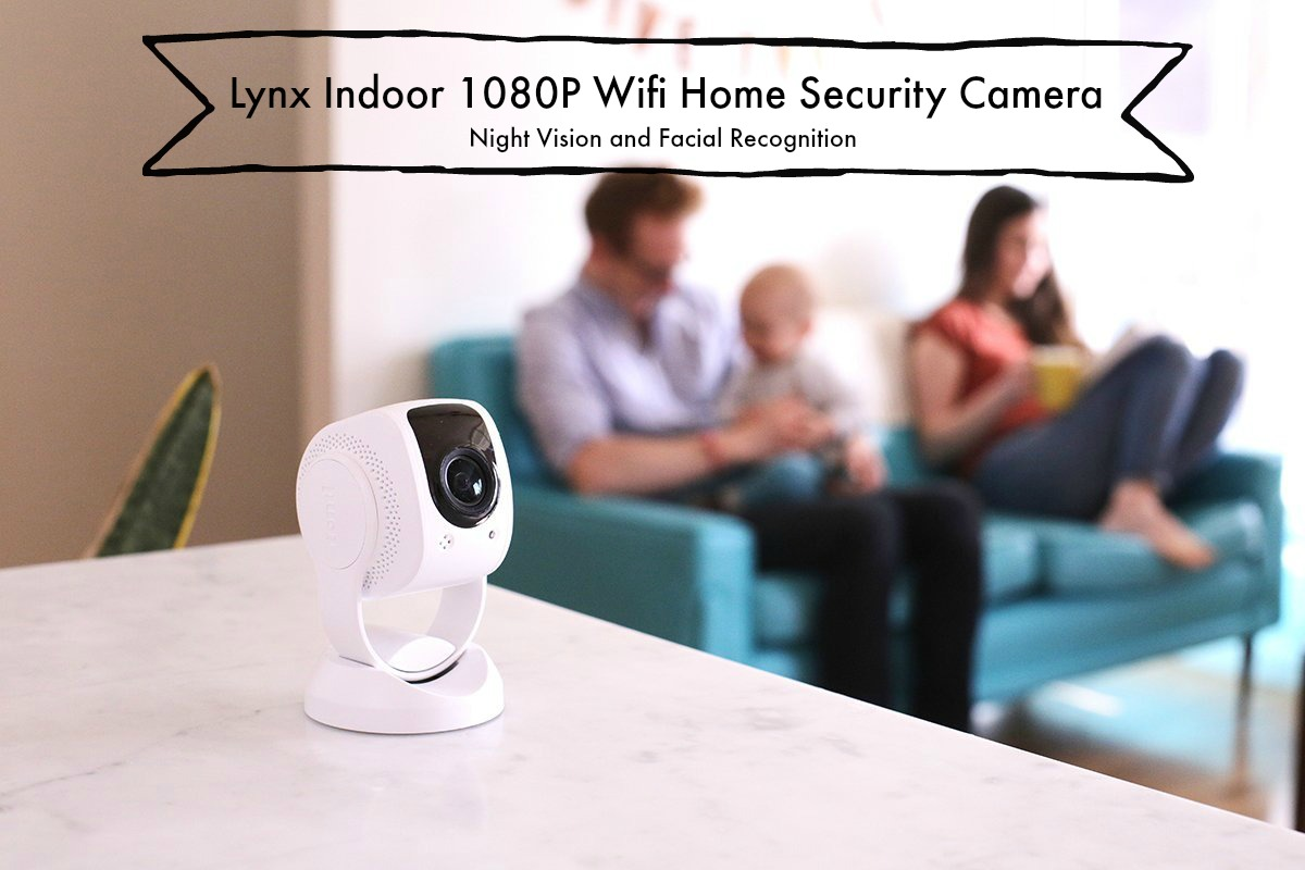 Lynx Indoor Home Security Kamera