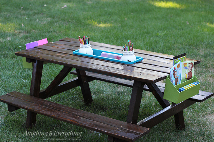 Picnic Table Plans For A Perfect Weekend Project - Picnic table with backrest