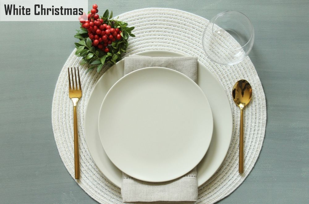 Simplify Your Holidays: Easy & Gorgeous Christmas Table Settings images 10