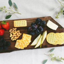 Modern DIY Fall Cheeseboard
