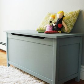 Modern Toy box free plans to build