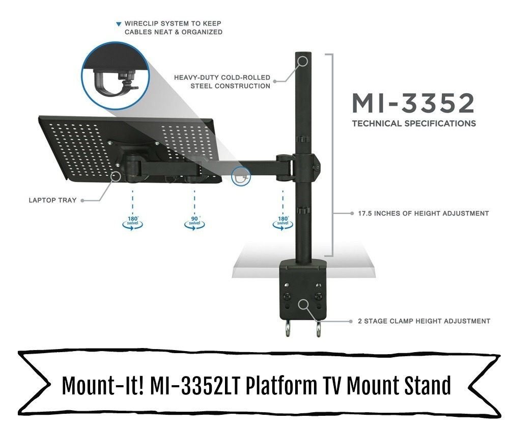 Platform TV Wall Mount
