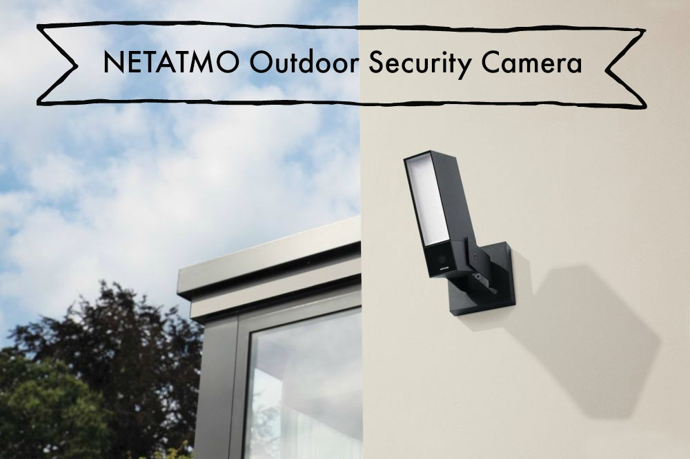 NETATMO Presence Outdoor Security Camera, NOC01-US