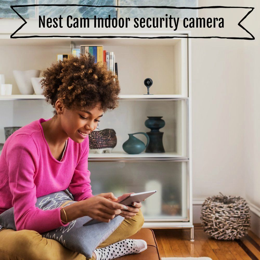 Nest Cam Indoor security camera, Works with Amazon Alexa